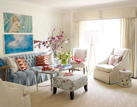 """Melissa Warner"" living room"