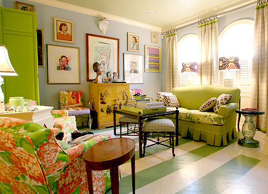 Using multiple patterns in a room successfully
