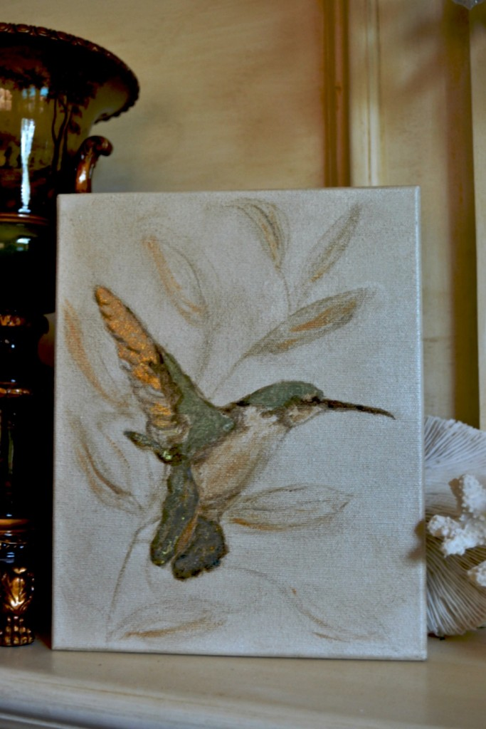 Hummingbird artwork finished