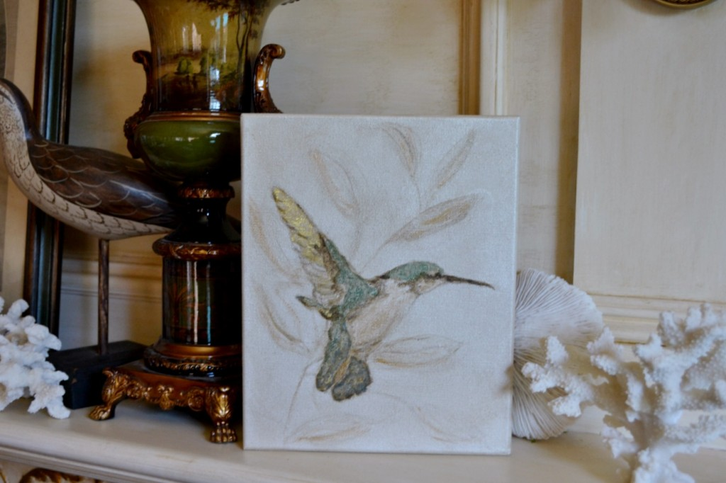 humming bird artwork