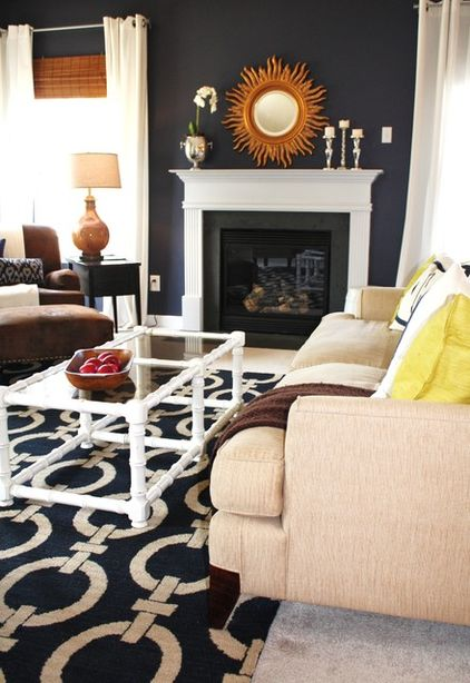 Color Roundup Using Navy Blue In Interior Design The Colorful Beethe Colorful Bee
