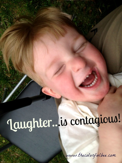 Laughter is contagious; laughter in children