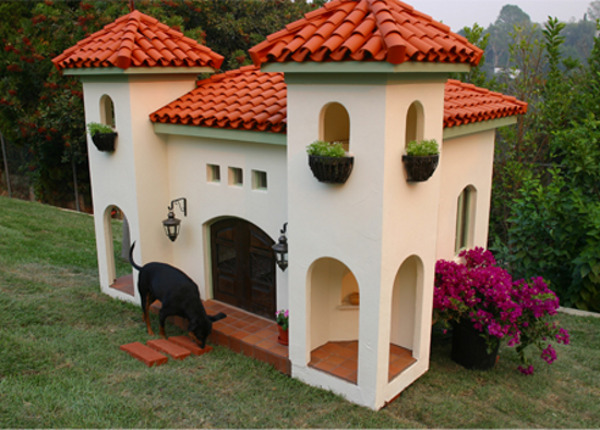 a Spanish hacienda for your dog