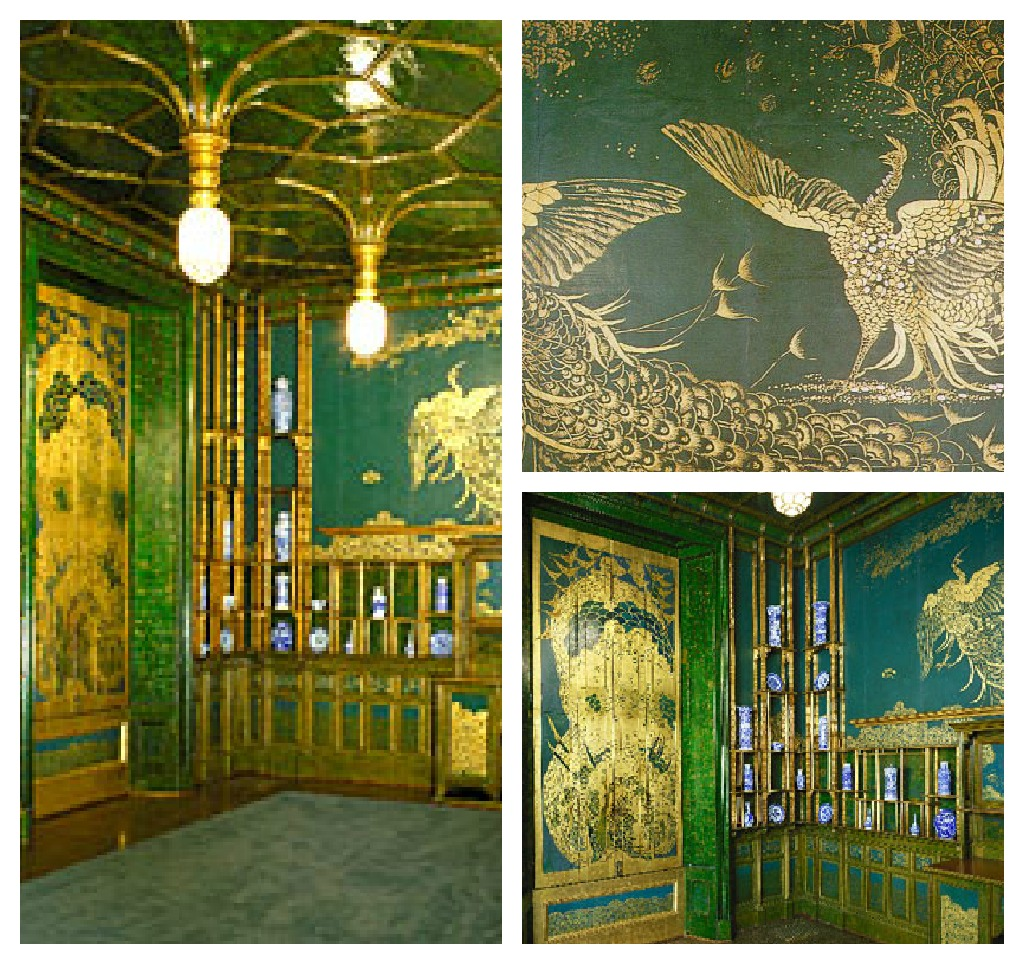 James McNeill Whistler's Reacock Room