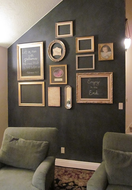 Blackboard Wall By Michelle