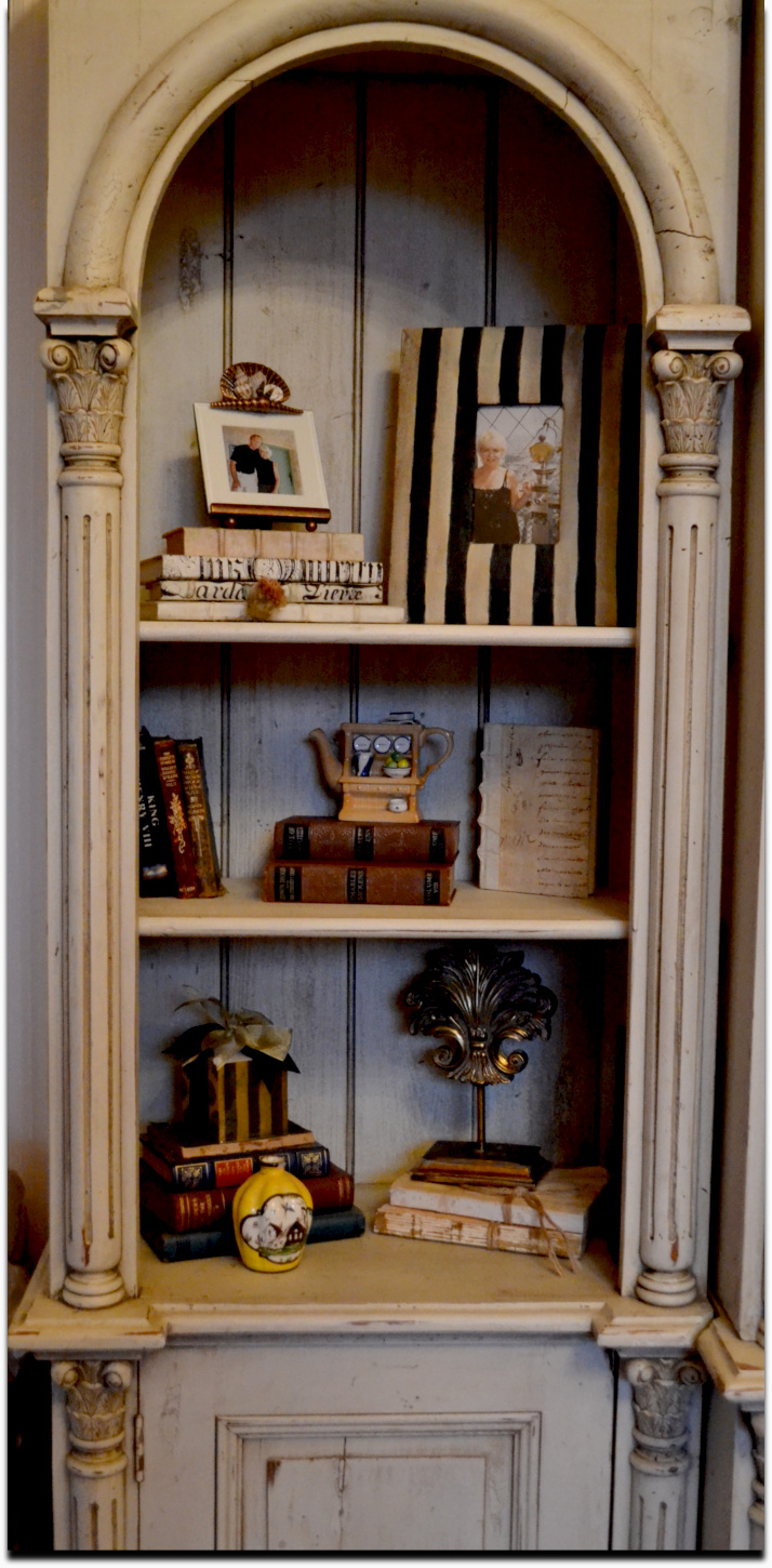 adding stripes to a plain picture frame