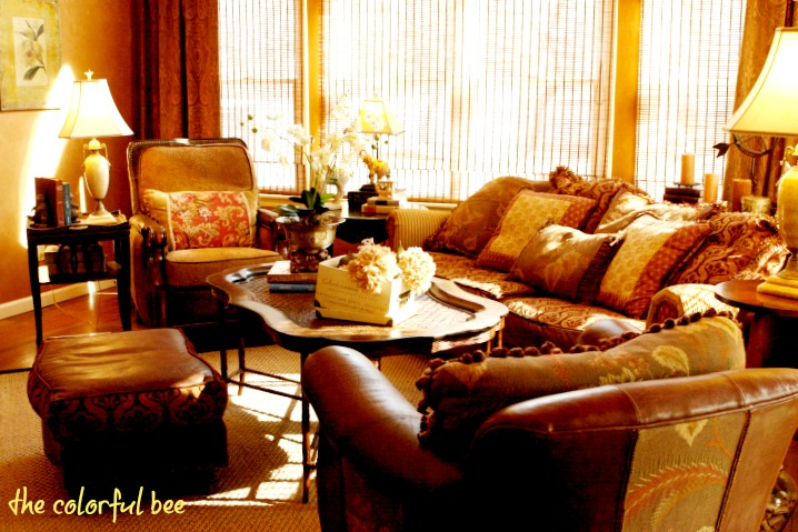 relaxed sofa and chairs in the great room