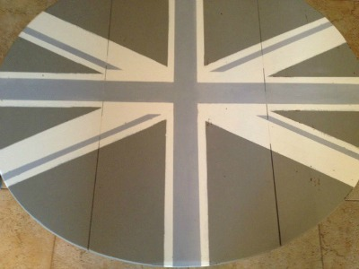 wrong way to paint the Union Jack