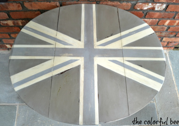 Union Jack design with Annie Sloan Chalk Paint
