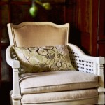 revamped chair with Annie Sloan Chalk Paint and Miss Mustard Seed wax