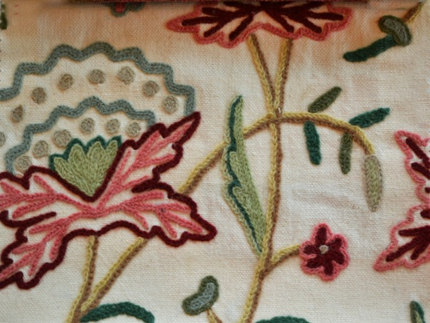 Rosenburg fabric from Robert Allen in Peony