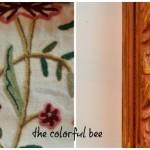 Rosenbugr fabric and Scandinavian Pink molding sample