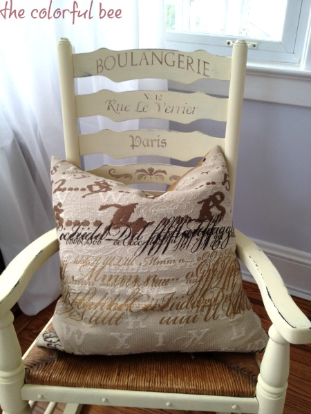 rocker after Annie Sloan Chalk Paint